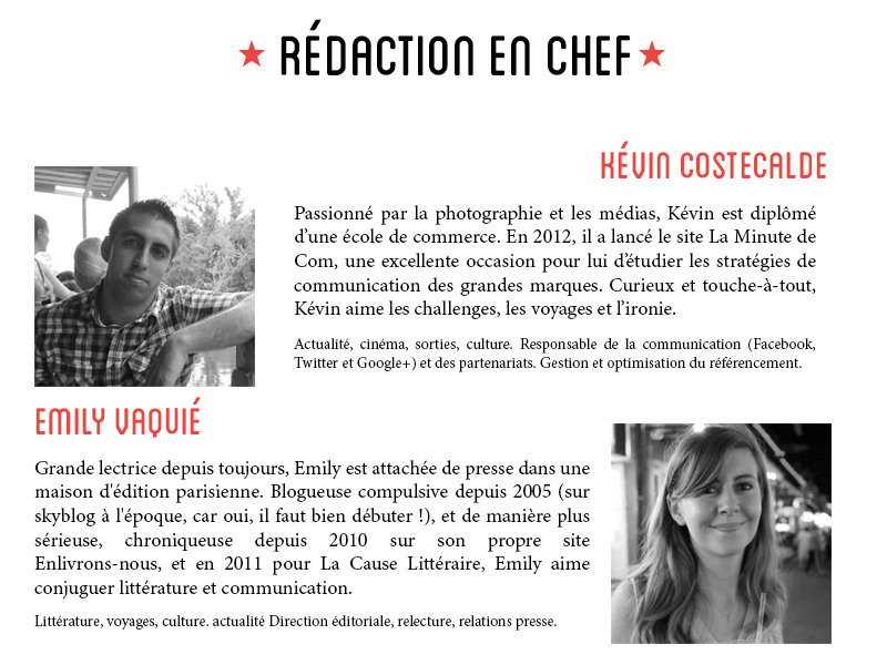 Rédaction en chef