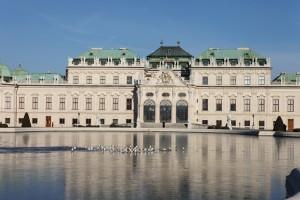Vue du Belvédère supérieur - Vienne