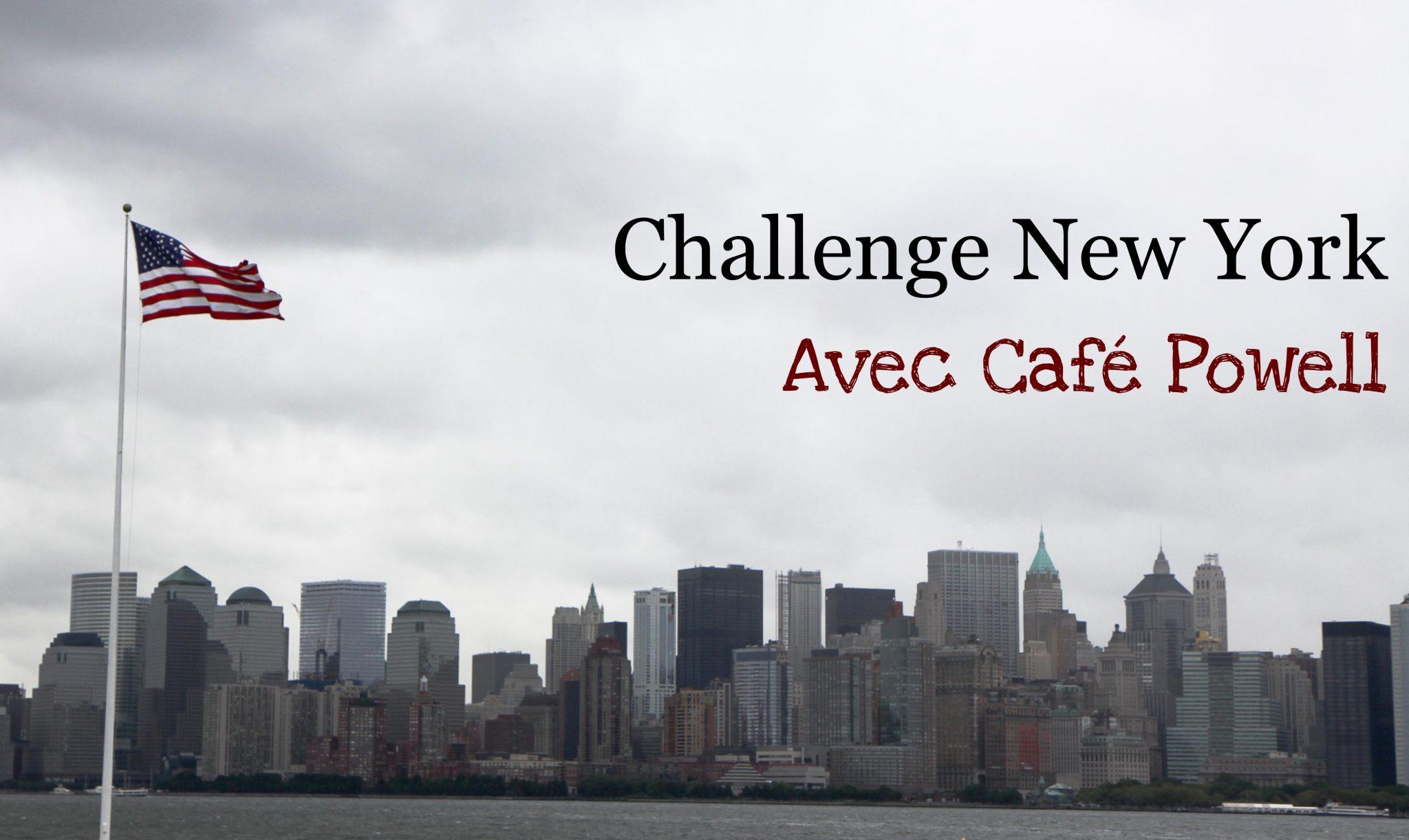 challenge new york café powell - Copie