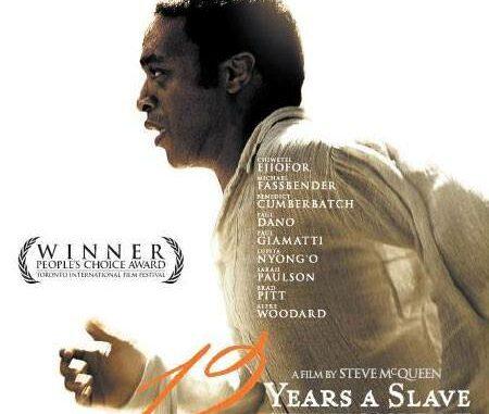 12 Years a Slave, Steve McQueen.
