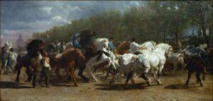 Marché aux chevaux, Rosa Bonheur, 1853.