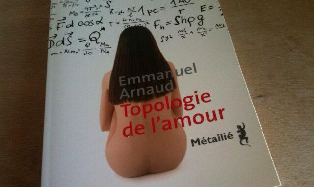 Topologie de l'amour, à découvrir aux éditions Métailié