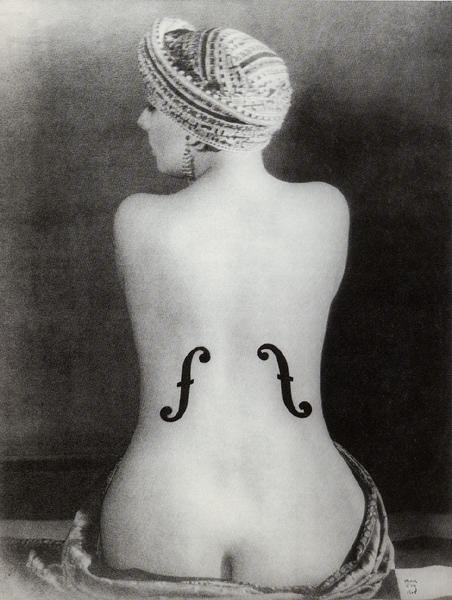 Le violon d'Ingres © Man Ray
