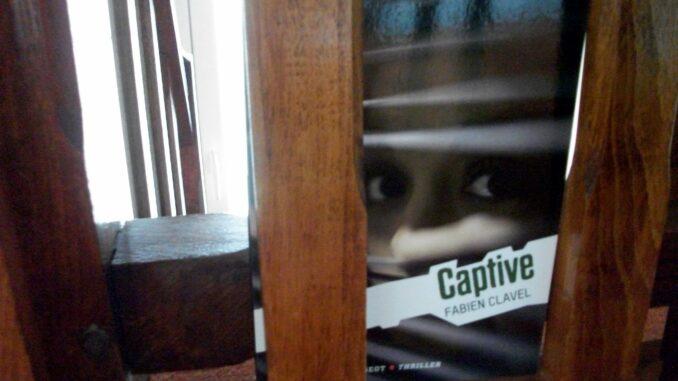 Captive, Fabien Clavel, Lana Blum, Rageot