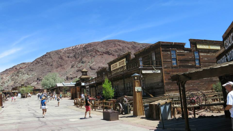 Calico Ghost Town, ville fantôme, Californie