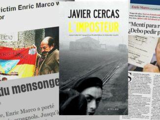 L'Imposteur, Javier Cercas, Actes Sud,
