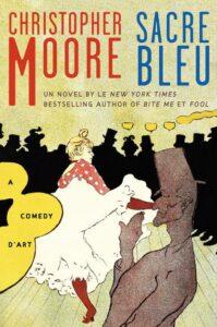 Sacré bleu, Christopher Moore, Équateurs roman