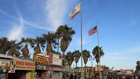 Ouest américain, road trip, Venice Boardwalk