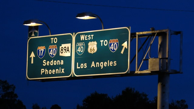 Road trip, Flagstaff, Arizona