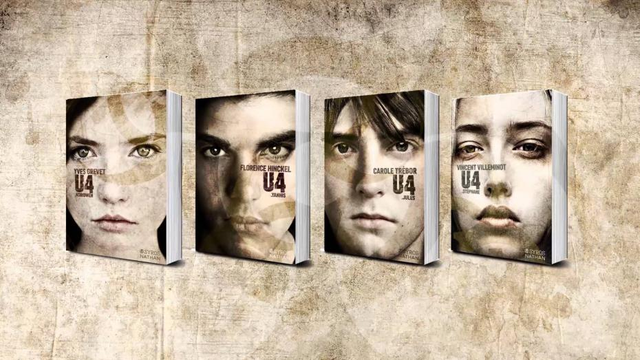 U4 : Stéphane, Vincent Villeminot, Nathan, Syros