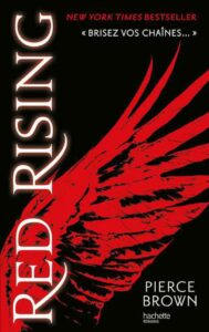 Red Rising, Pierce Brown, hachette jeunesse