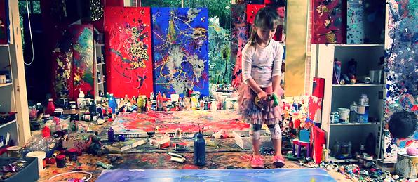 Aelita André : l'enfance de l'art