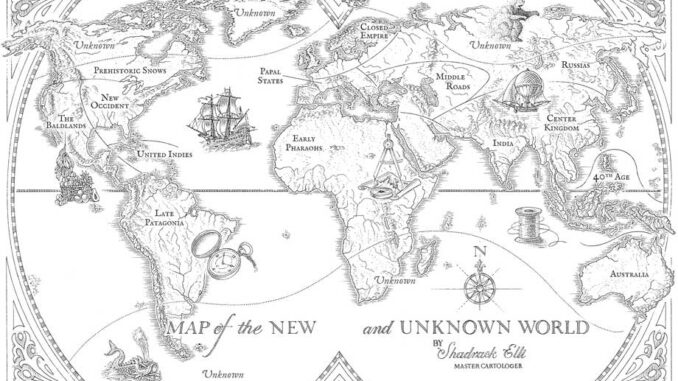 Les Cartographes, La Sentence de verre, S. E. Grove, Nathan