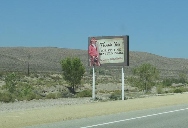 Las Vegas, Road-Trip, Café Powell