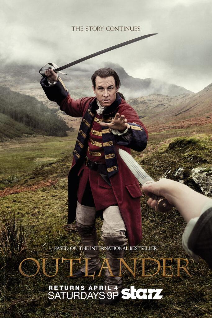 Outlander, Claire, Jamie, série TV