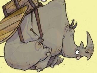 Rhino vole !, Ryan Higgins, éditions du Père Fouettard,