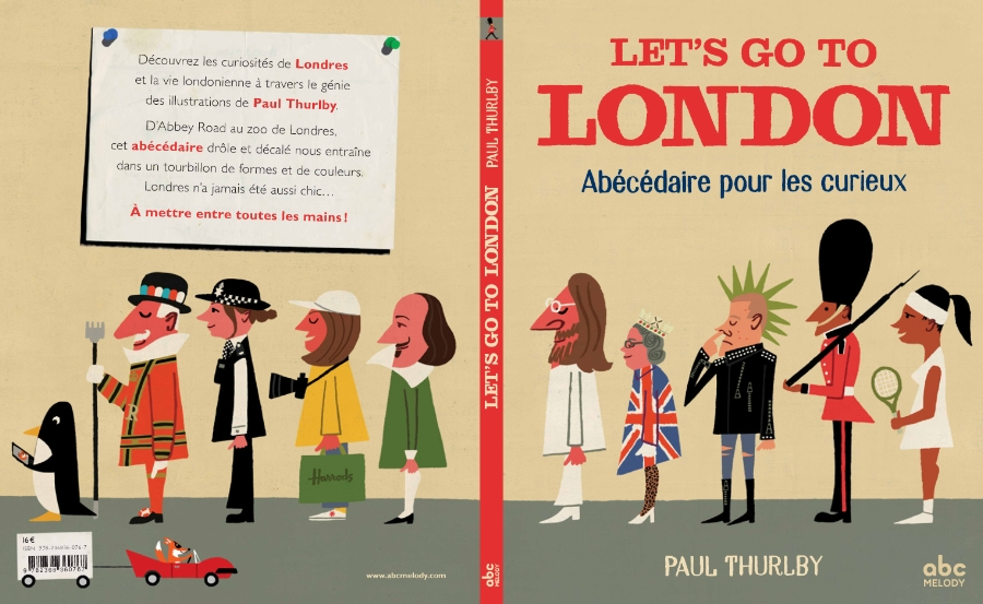 Let's go to London, Paul Thurlby, ABC Melody