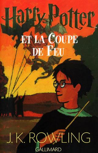 Harry Potter et la coupe de feu, JK Rowling, Gallimard