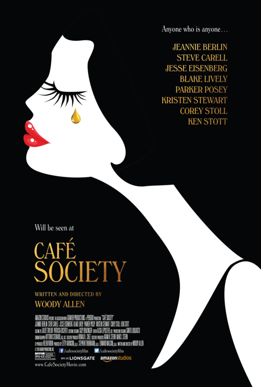 Café Society, Woody Allen, Jesse Eisenberg, Kristen Stewart, Steve Carell