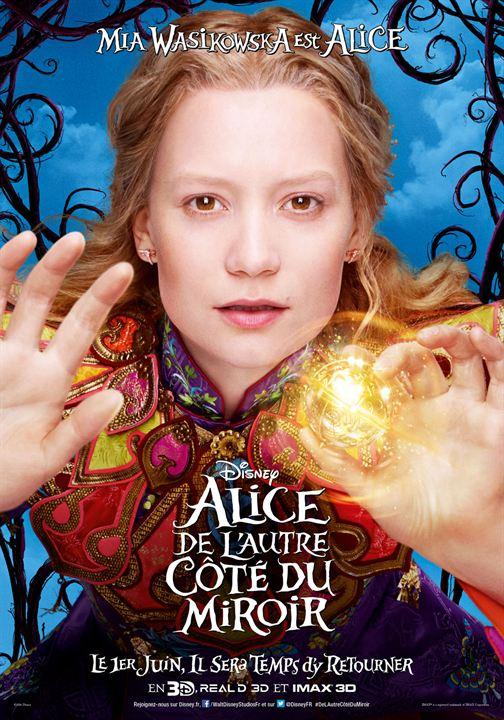 Alice de l'autre côté du miroir Affiche du film
