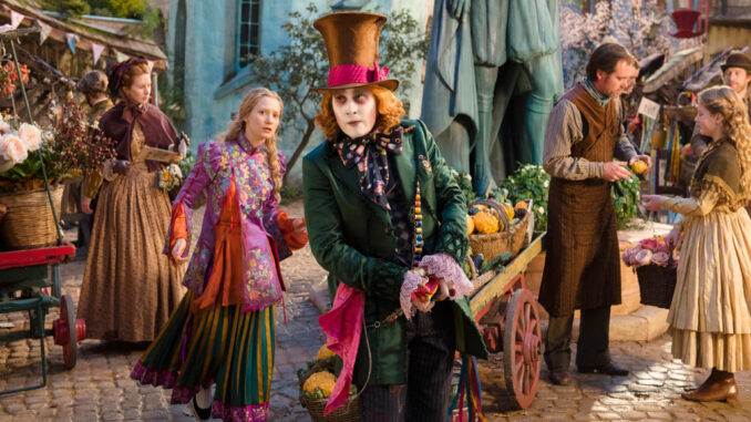 Alice de l'autre côté du miroir, James Bobin, Tim Burton