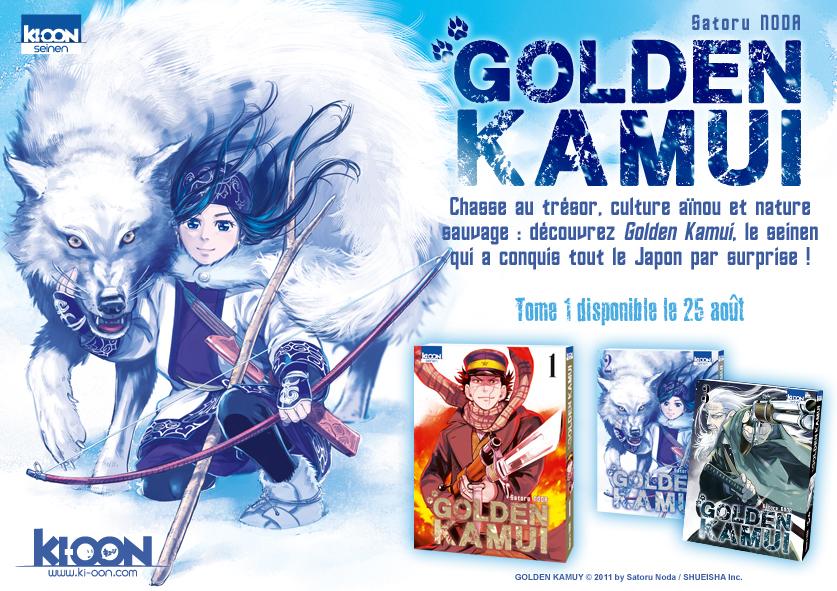 Golden Kamui, Satoru Noda, Ki-oon