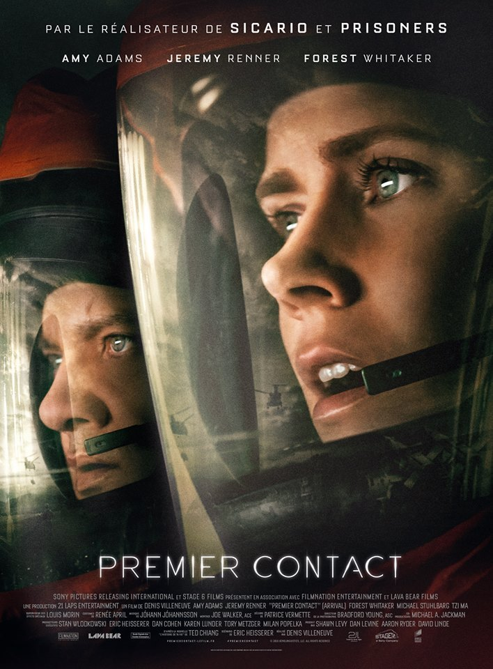 Premier contact, Denis Villeneuve, Amy Adams