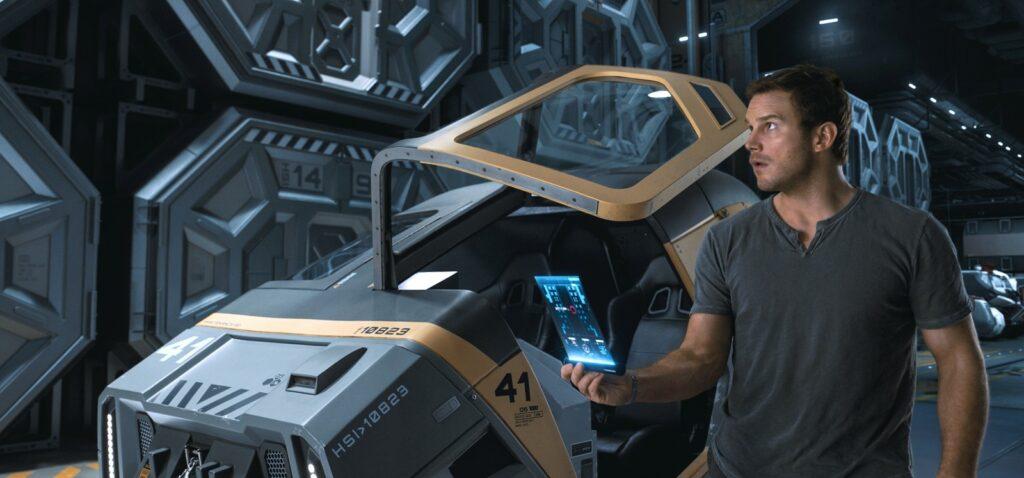 Passengers, Chris Pratt, Jennifer Lawrence