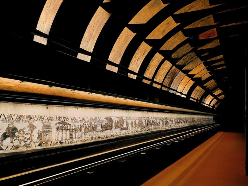 Extrait de la Tapisserie de Bayeux ©Tapisserie de Bayeux