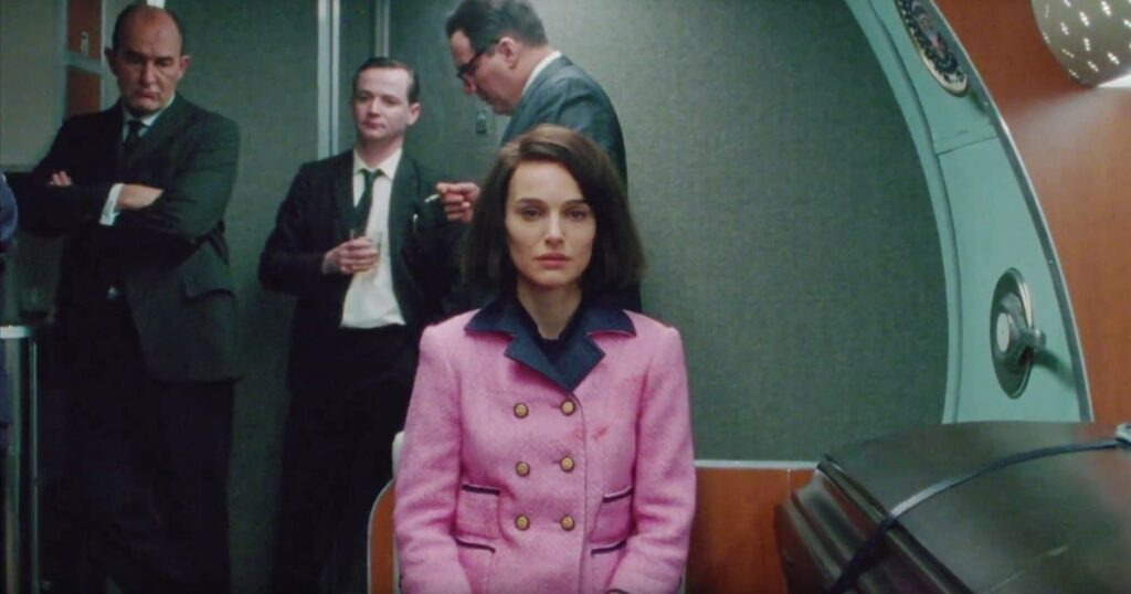Jackie, Jacqueline Kennedy, biopic