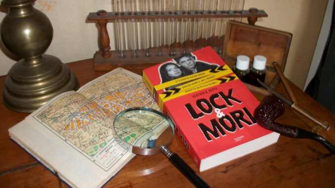 Lock & Mori, Heather W. Petty, Hachette jeunesse