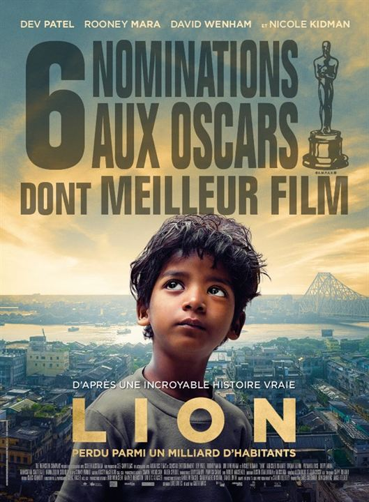 Lion, Garth Davis, Saroo Brierley, Dev Patel, Sunny Pawar