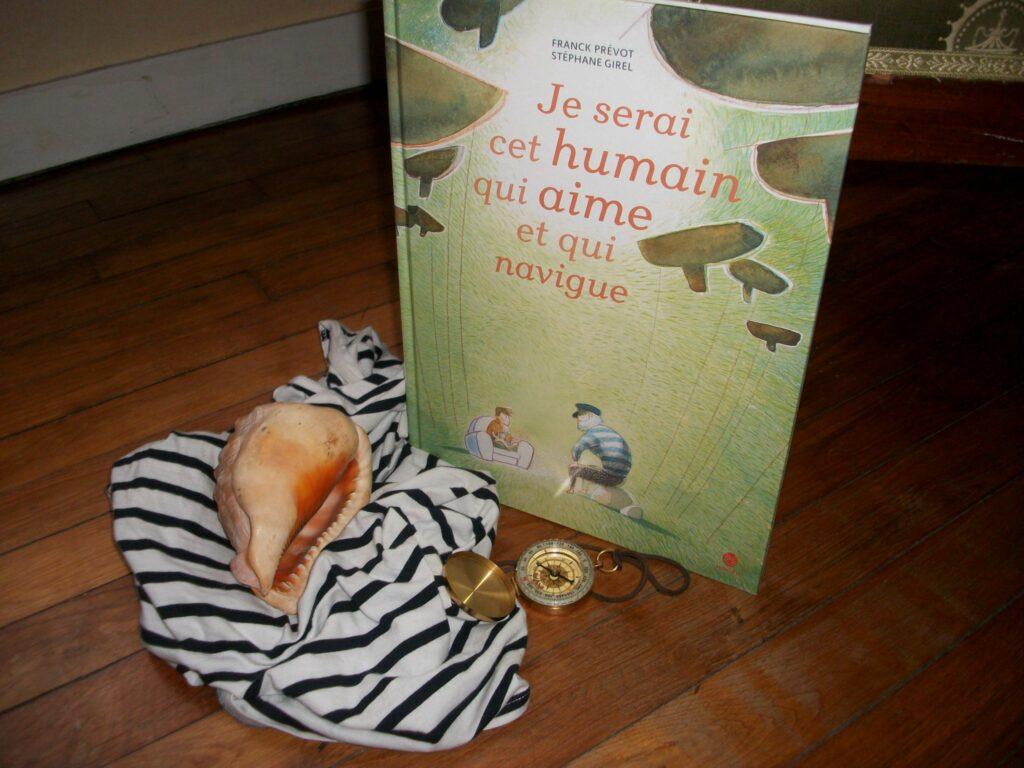 Je serai cet humain qui aime et qui navigue, Frank Prévot, Stéphane Girel, HongFei Cultures
