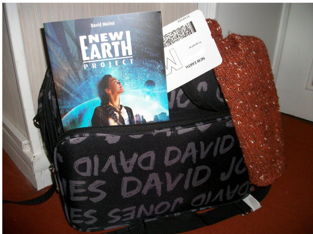 New Earth Project, David Moitet, Didier Jeunesse
