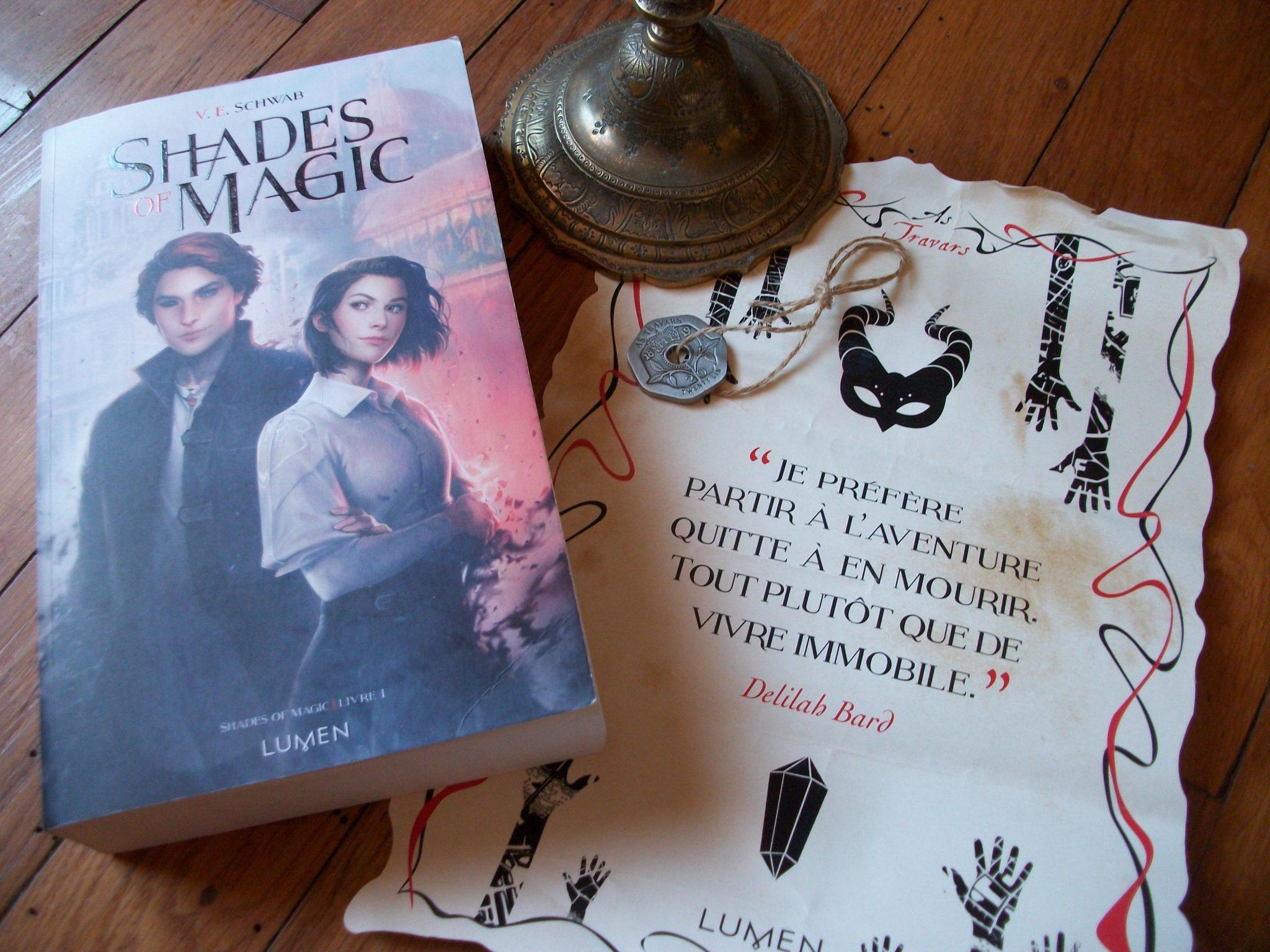 Shades of magic, V.E. Schwab, Lumen