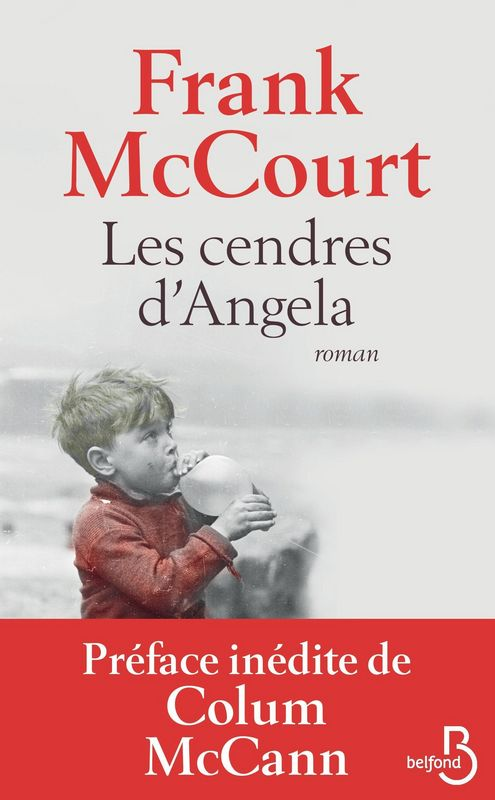 Les Cendres d'Angela, Frank McCourt, Belfond