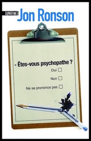 Êtes-vous psychopathe ?, Jon Ronson, Sonatine