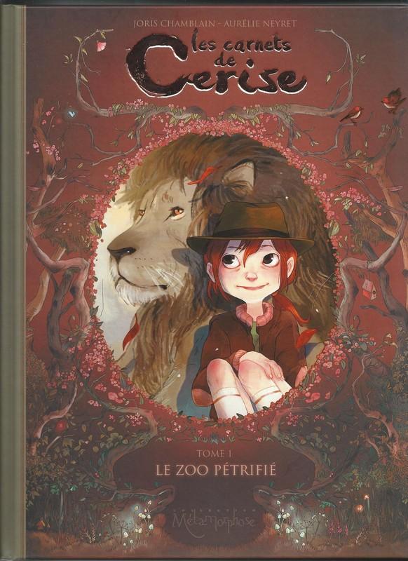Les Carnets de Cerise, Joris Chamblain et Amélie Neyret, Soleil