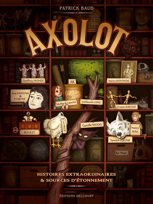 Axolot, Patrick Baud, Delcourt