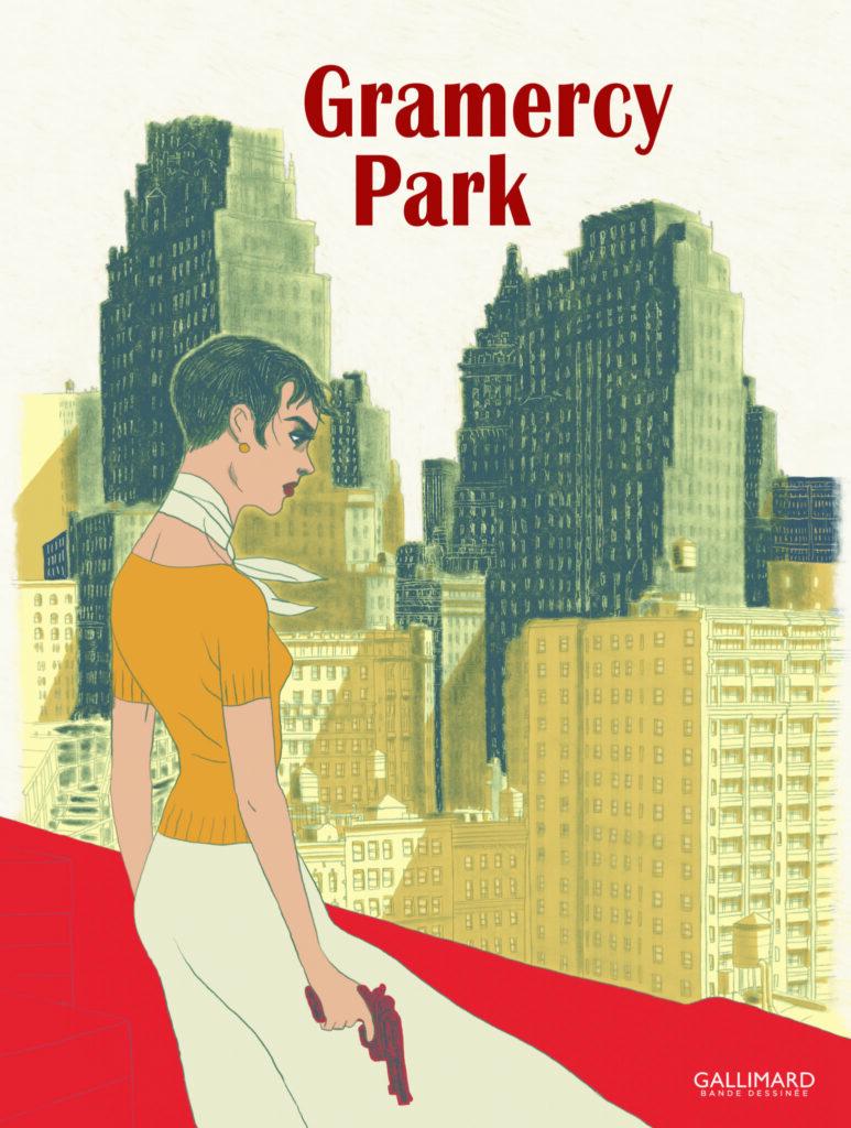 Gramercy Park, Timothée de Fombelle et Christian Cailleaux, Éditions Gallimard