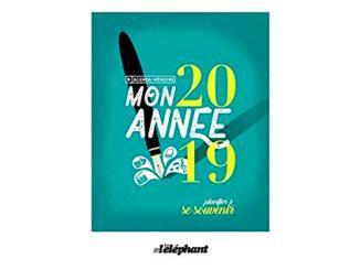 Mon année 2019 : planifier et se souvenir, Éditions Scrinéo