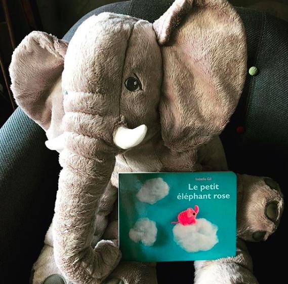 Le Petit Éléphant rose, Isabelle Gil
