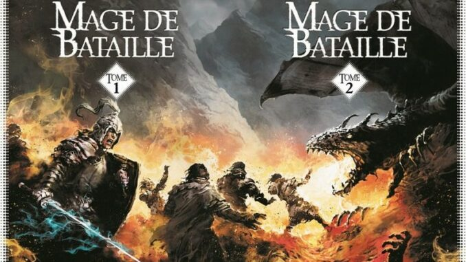 Mage de bataille, Peter Flannery, Albin Michel