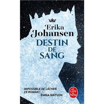 destin de sang, erika johansen, livre de poche