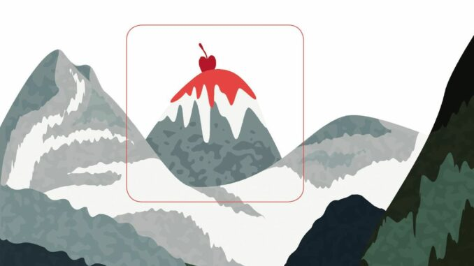 La Montagne en sucre