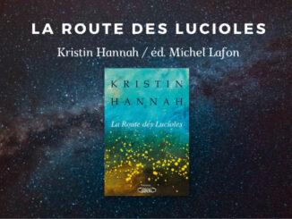 La Route des Lucioles, Kristin Hannah, Michel Lafon