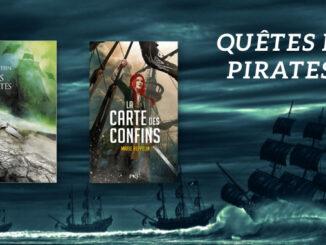 Quêtes de pirates, Mers Mortes, La carte des confins