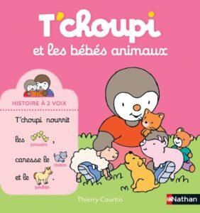 Tchoupi et les bébés animaux